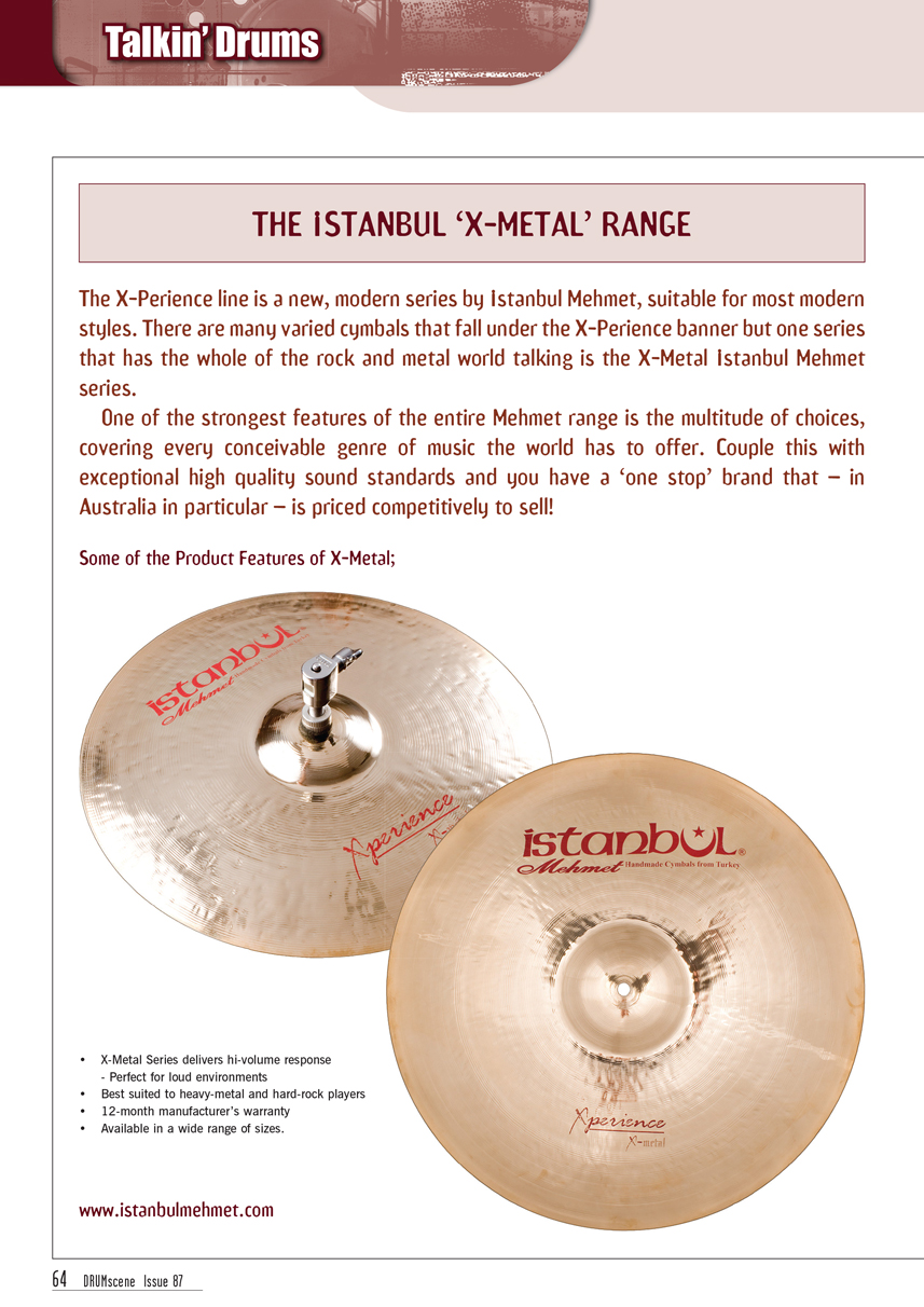 TalkinDrums XMetal Range