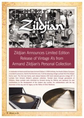Zildjian 'A' 100th Birthday Limited Release