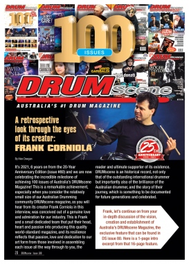 100 Issues of Drumscene: A retrospecive