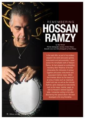 Remembering Hossan Ramzy